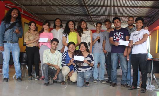 Treasure Hunt organized in the college in June 2015