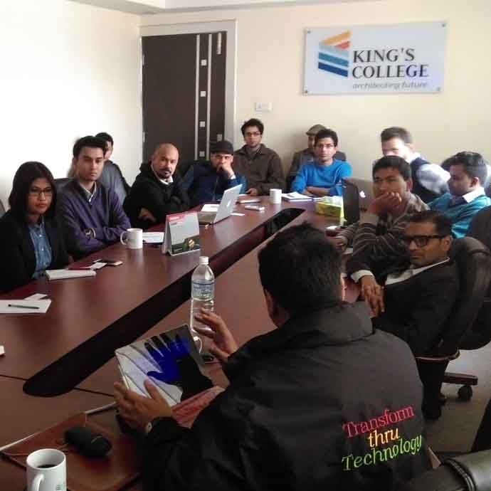 King's collaborate with MIC Nepal