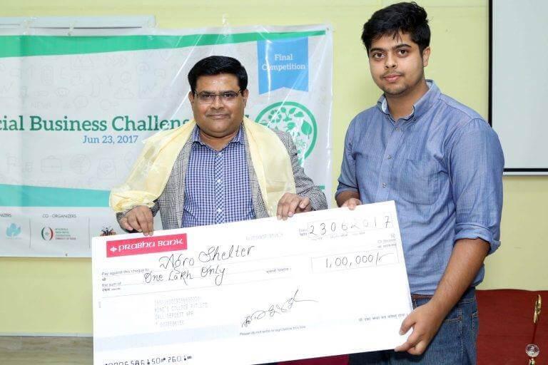 AgroShelter Wins Social Business Challenge 2017