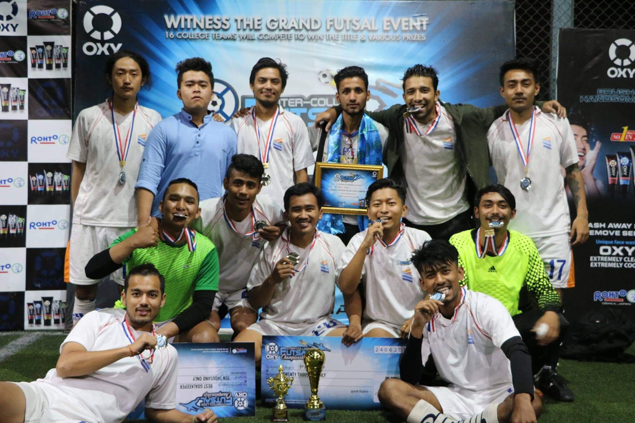 King's Finish Runner-Up in Oxy Inter-College Futsal Tournament