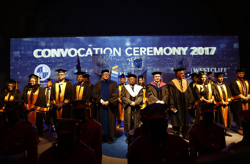 First King's Convocation Held