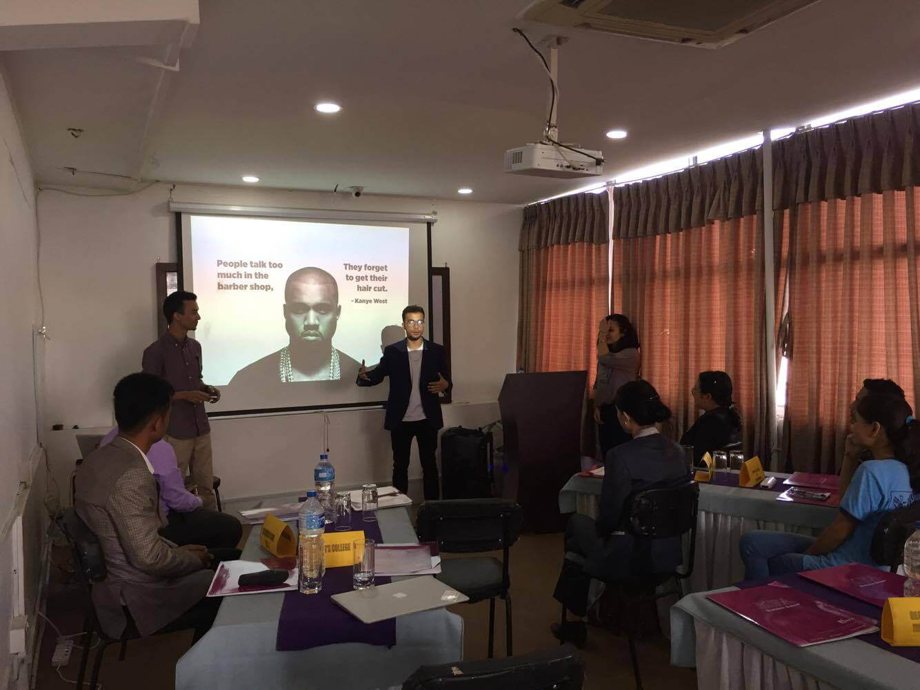 King's Participates in Business Communication Seminar